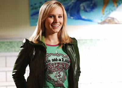 blondes, women, Kristen Bell, actress, celebrity - related desktop wallpaper