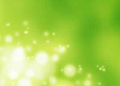 green, abstract, glow - desktop wallpaper