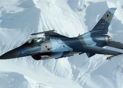aircraft, military, planes, F-16 Fighting Falcon - related desktop wallpaper