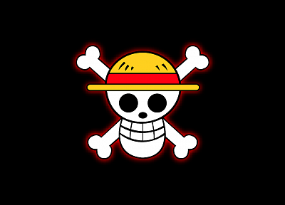 skulls, happy, One Piece (anime) - random desktop wallpaper