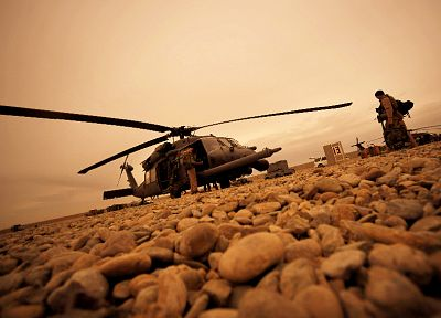 helicopters, Afghanistan, vehicles - desktop wallpaper