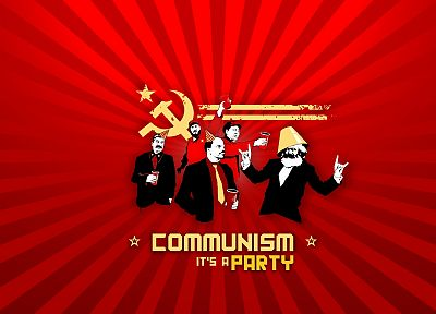 communism, stalin, party, Lenin - desktop wallpaper