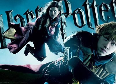 Harry Potter, Harry Potter and the Half Blood Prince, Rupert Grint, Ginny Weasley, Ron Weasley - random desktop wallpaper