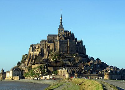 architecture, France, Mont St Michel - related desktop wallpaper