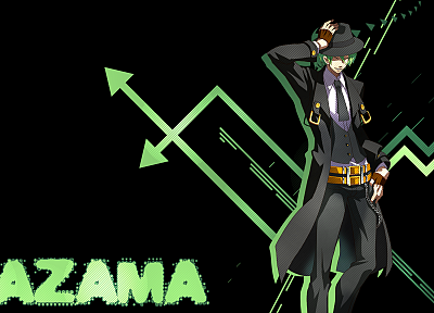 green, Blazblue - random desktop wallpaper