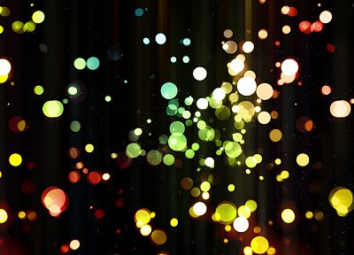lights, bokeh - related desktop wallpaper