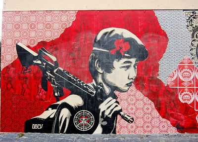 obey, Shepard Fairey - random desktop wallpaper
