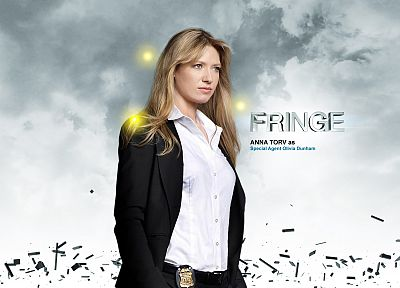 TV, white, Fringe, Anna Torv, Olivia Dunham - related desktop wallpaper