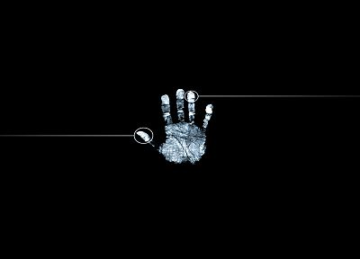 TV, hands, Fringe, fingerprints, palm prints - random desktop wallpaper