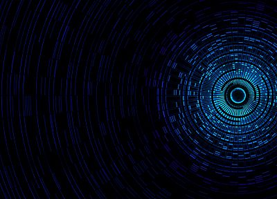 abstract, blue - random desktop wallpaper