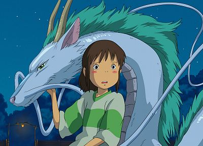 Spirited Away, Ogino Chihiro, anime - related desktop wallpaper