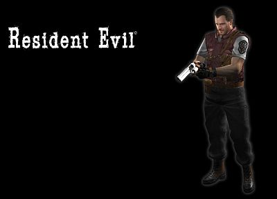 Resident Evil, Barry Burton - related desktop wallpaper