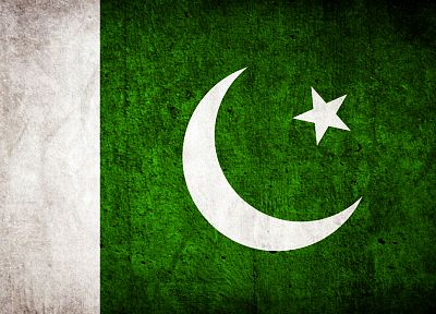 grunge, flags, Pakistan - desktop wallpaper