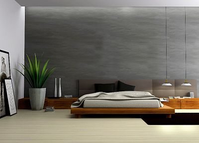 architecture, room, interior, bedroom - related desktop wallpaper
