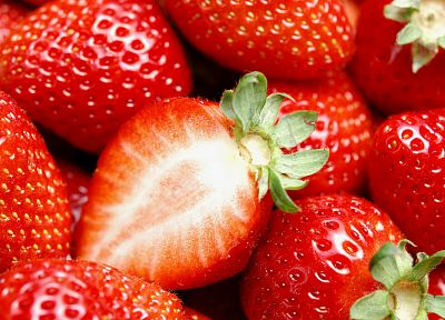 nature, strawberries - random desktop wallpaper
