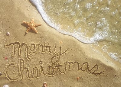 Christmas, paradise, beaches - random desktop wallpaper