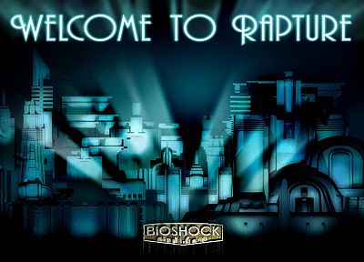 BioShock, Rapture - related desktop wallpaper