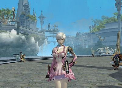 video games, Aion, games - related desktop wallpaper