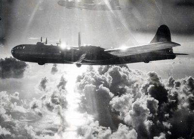 war, World War II, B-29 Superfortress, historic, Enola Gay - random desktop wallpaper