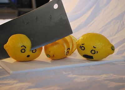 food, funny, lemons - related desktop wallpaper