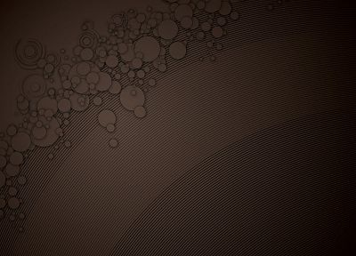 circles, brown, monochrome, lines, vector art - random desktop wallpaper