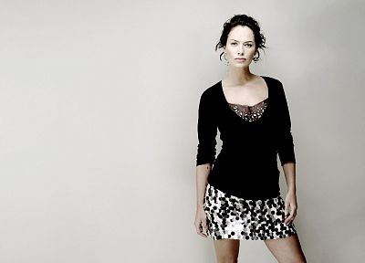 women, models, celebrity, Lena Headey - desktop wallpaper