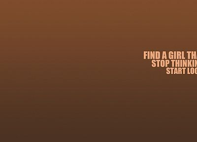 minimalistic, text, brown, typography - related desktop wallpaper