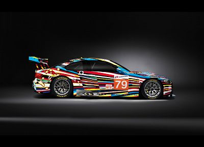 BMW, cars, sports, vehicles, M3, BMW M3 GT2 art car - random desktop wallpaper
