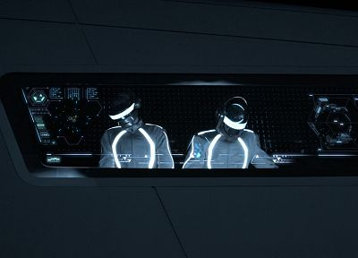 Daft Punk, Tron - related desktop wallpaper