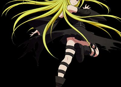 upskirt, To Love Ru, Golden Darkness, black background - desktop wallpaper