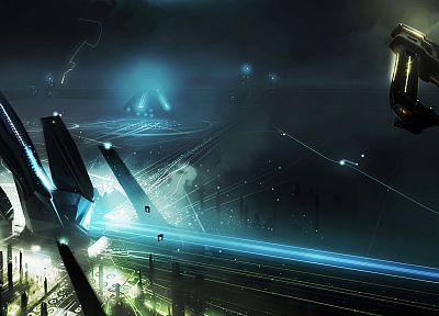 Tron, Tron Legacy, concept art - related desktop wallpaper
