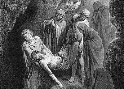 Jesus Christ, artwork, Gustave  Dore - random desktop wallpaper