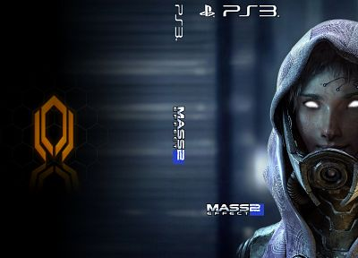 video games, Mass Effect 2, cerberus, Tali Zorah nar Rayya - desktop wallpaper