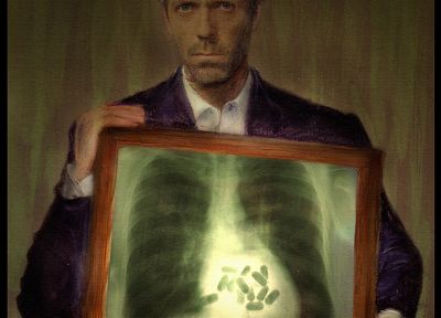 Xray, vicodin, Hugh Laurie, pills, Gregory House, House M.D. - related desktop wallpaper