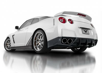 cars, Nissan, low-angle shot, Nissan GT-R R35 - related desktop wallpaper