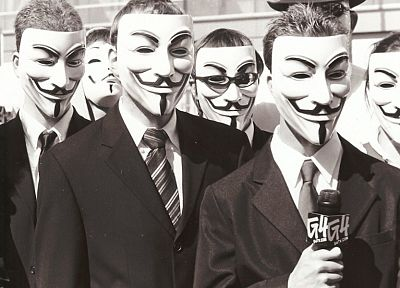 Anonymous, Guy Fawkes - related desktop wallpaper