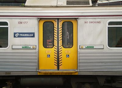 trains, electric, public, transportation, Queensland Rail, doors - random desktop wallpaper