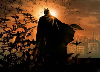 Batman, DC Comics, Batman Begins - desktop wallpaper