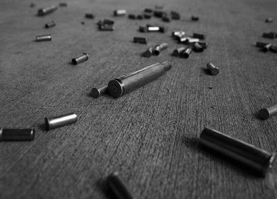 grayscale, ammunition, monochrome - random desktop wallpaper