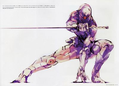 video games, ninjas, mgs, Metal Gear Solid, Gray Fox - related desktop wallpaper