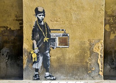 graffiti, Banksy - related desktop wallpaper