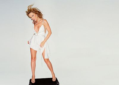 women, Kylie Minogue - desktop wallpaper