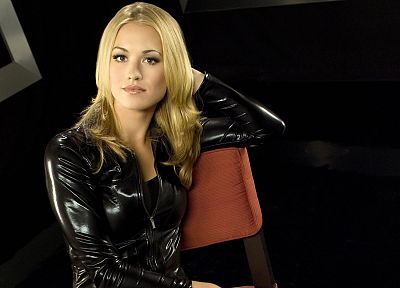 blondes, women, actress, Yvonne Strahovski - random desktop wallpaper