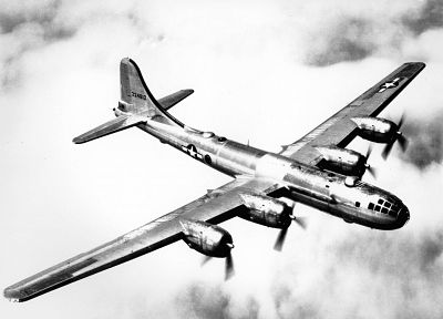 aircraft, bomber, B-29 Superfortress, Enola Gay - random desktop wallpaper