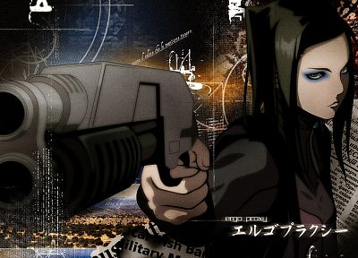 Ergo Proxy - random desktop wallpaper