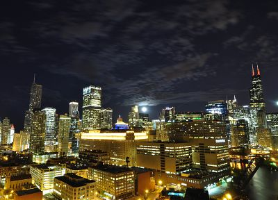 cityscapes, buildings, nightlights - related desktop wallpaper