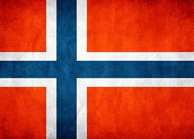 Norwegian, flags - desktop wallpaper