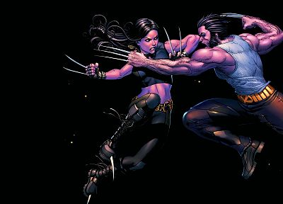 X-Men, Wolverine, Marvel Comics - desktop wallpaper