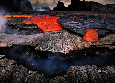 landscapes, lava - desktop wallpaper