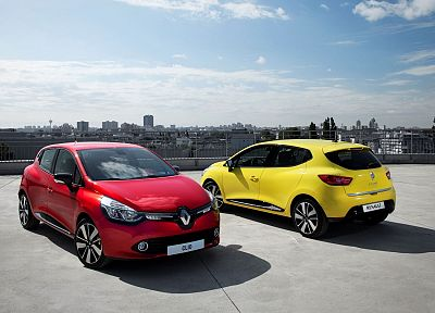 cars, Renault Clio - desktop wallpaper